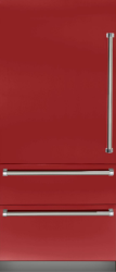 Brand: Viking, Model: VBI7360WLBU, Color: Apple Red, Left Hinge