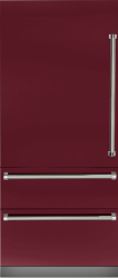 Brand: Viking, Model: VBI7360WLBU, Color: Burgundy, Left Hinge