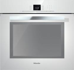 Brand: MIELE, Model: H6680BP, Style: Brilliant White with PureLine Handle