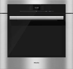 Brand: MIELE, Model: H6680BP, Color: Clean Touch Steel with ContourLine Handle