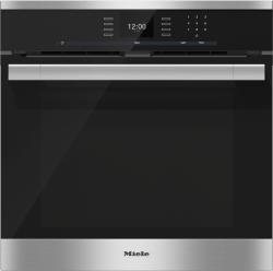Brand: MIELE, Model: H6560B, Style: Stainless Steel, Self-Clean with Comfort Swivel Handle