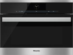 Brand: MIELE, Model: DGC68001XLBL, Color: Clean Touch Steel