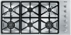 Brand: MIELE, Model: KM3484LP, Fuel Type: Stainless Steel, Hexa Grate Design and Liquid Propane