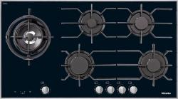 Brand: MIELE, Model: KM3054, Fuel Type: Black, Stainless Steel Frame