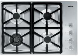 Brand: MIELE, Model: KM3465LP, Fuel Type: Stainless Steel, Hexa Grate Design and Liquid Propane