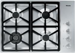 Brand: MIELE, Model: KM3465LP, Fuel Type: Stainless Steel with Hexa Grate Design and Natural Gas